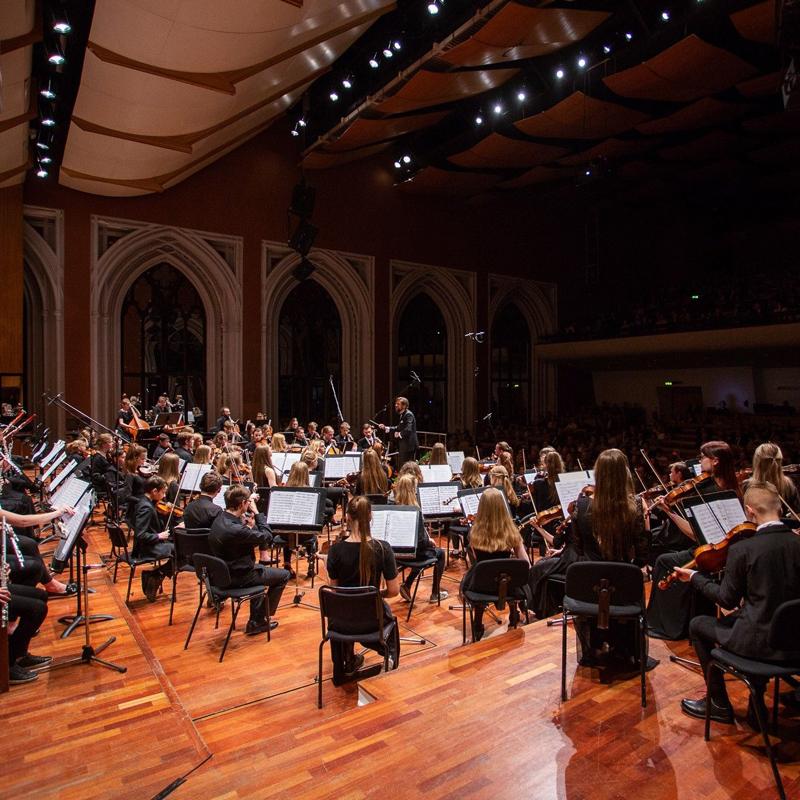 Latvia's Youth Symphony Orchestra